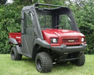 Kawasaki Mule 610 3010 4010 Cab Enclosure Doors Rear Window Combo