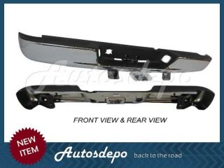 New Rear Step Bumper Chrome 2002 2008 Dodge Ram 1500 03 09 Ram 2500