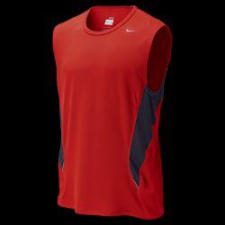Nike Sleeveless Mesh Mens Running Shirt