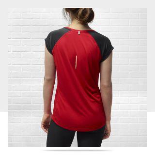Nike Miler V Neck Womens Running Shirt 519831_659_B