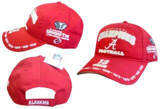 Alabama Crimson Tide 13X Championship Hat