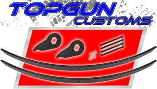 1997 2003 Ford F150 3 Front 2 Rear Add A Leaf Leveling Lift Kit 4WD