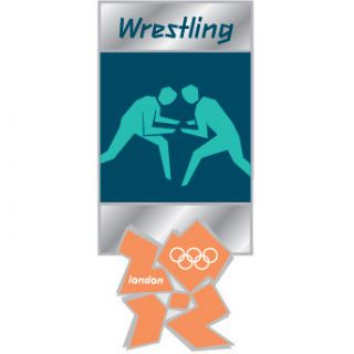 London 2012 Olympics Wrestling Pictogram Official Commemorative Pin