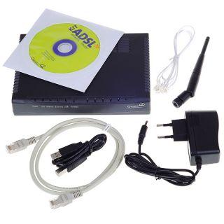 ZYXEL 2.4GHz 54Mbps 802.11g/b ADSL2+ WLAN/WiFi/Wireless Broadband