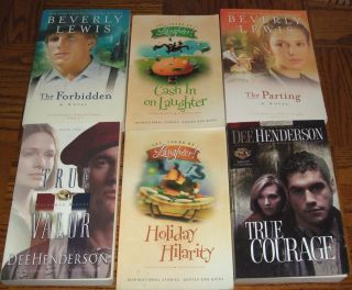 Book Lot #6   Christian Romance   Henderson, Lewis, Laughter