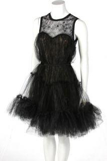 New ABS by Allen Schwartz Womens Strapless Party Dress in Black US 10