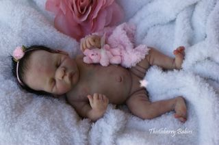 Thistleberry Babies Full Body Solid Silicone Mini Girl Beautifully