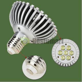 E27 PAR30 7 1W High Power Downlight LED Spotlight Lamp AC86V 265V Cool