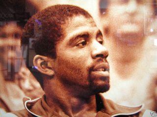 Lakers Magic Johnson 32 Kareem Abdul Jabbar 33 Signed Dated Edi