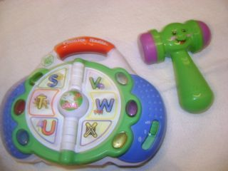 Frog Phonics Radio and Hammer Baby Toys Lot Alphabet Letters