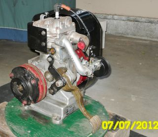 Cushman Motor Scooter Husky Engine 4 HP Complete
