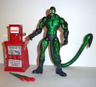Marvel Legends Scorpion RARE Metallic Spider Man Classics Complete Toy