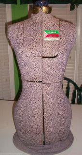 Vintage Singer Adjustable Dress Form Mannequin Size A