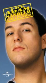 NEW ADAM SANDLER COLL 3 VHS PK BILLY MADISON   HAPPY GILMORE