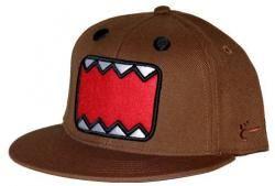 Domo Kun Baseball Cap Hat Domo Face Adult Large to Extra Large