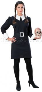 Officially licensed Addams Family Wednesday Addams Adult Costume