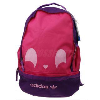 Adidas Originals Chouky Backpack Pink Purple Bookbag Bag (Pancil Case