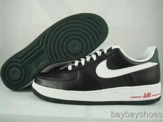 Nike Air Force 1 Black White Green Red Mens All Sizes
