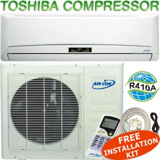 12000 BTU Ductless Mini Split Air Conditioner   Heat Pump 12,000 BTU