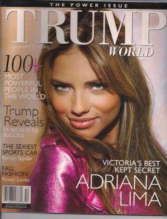 Adriana Lima Trump Magazine Ferrari Spyder Monaco Angelina Jolie