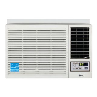 500 BTU Heat and Cool Window Air Conditioner with Remote White