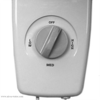 9012 Air King Wall Mounted Fan In White with a 1/50 HP Motor