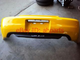 00 01 02 03 Honda S2000 rear bumper cover AfterMarket YELLOW