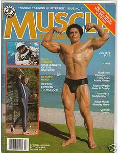 Training Bodybuilding Fitness Magazine Mario Nieves Al Oerter 7 79