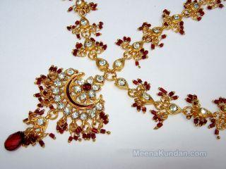 Jodha Akbar Wedding Jewellery Set 811 with Matha Patti