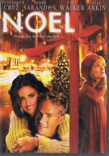 Christmas PENELOPE CRUZ paul walker SUSAN SARANDON alan arkin NEW DVD