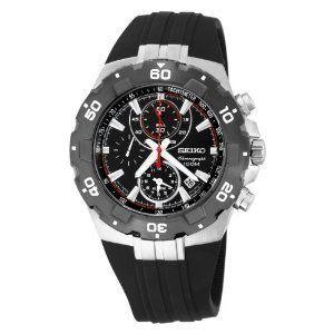 Seiko Mens Sport Alarm Chronograph Watch SNAD61