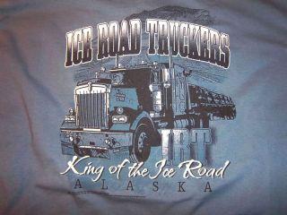Alaska Ice Road Truckers King of Ice Road T Shirt Med
