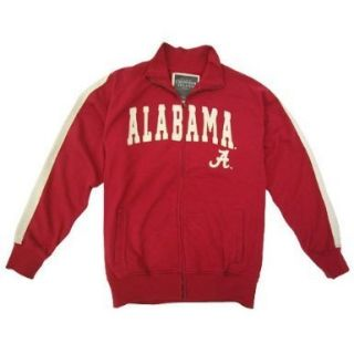 ALABAMA CRIMSON TIDE COLOSSEUM PINNACLE SLUB FRENCH TERRY TRACK JACKET