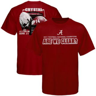 Alabama Crimson Tide 2011 BCS National Champions T Shirts