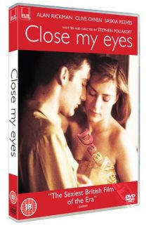 Close My Eyes New PAL Arthouse DVD Alan Rickman