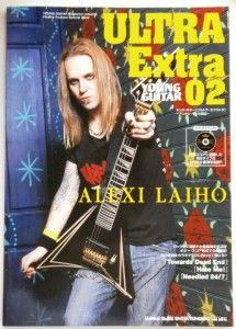 ALEXI LAIHO Children Of Bodom JAPAN Guitar Tab Book w/ KARAOKE CD