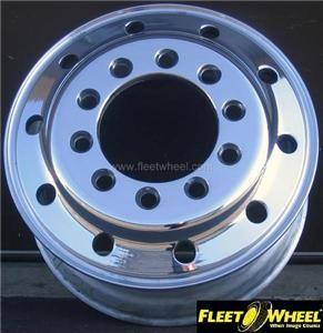 Alcoa/Accuride 22.5 x 9.00 Stud Piloted Aluminum Wheels   2