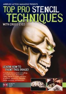 Airbrush Paint Techniques DVD with Cross Eyed by Airbrush Action