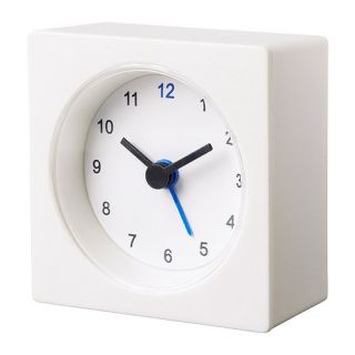 IKEA VACKIS WHITE ALARM CLOCK NEW FROM IKEA GREAT ITEM FOR TRAVEL