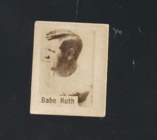 Chocolate Baguer Set Babe Ruth Lou Gehrig Al Lopez Rookie Ott 89 90