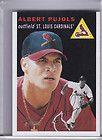 Albert Pujols 2003 Topps TA AP Short Print Rare Auto Cardinals Angels