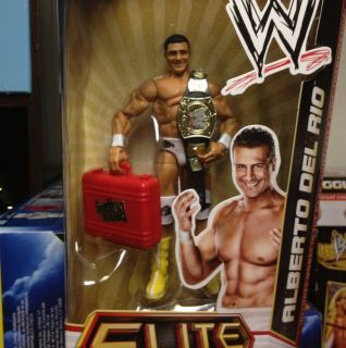 ALBERTO DEL RIO WWE Elite Collection Series 12 Championship Belt MITB