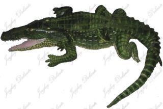 giant huge 65 alligator crocodile stuffed plush