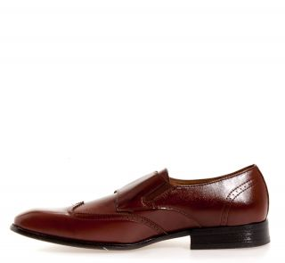 Delli Aldo Mens Double Strap Synthetic Dress Oxford Dress Formal Shoes