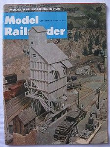 vintage model railroader magazine september 1966