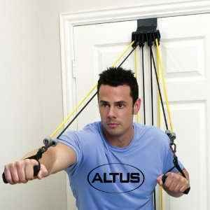 New Altus Total Pro Home Gym Body Workout Resistance Bands with