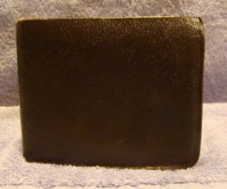 Vintage Alfred Dunhill Wallet Billfold Brown Leather S304