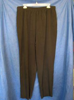 Allison Daley Pull on Dress Pants Slacks Two Pkts 18W S
