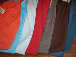 Womens Alfred Dunner Pants 8P 1P 12 12P 16 18 Aqua Brown Red Blue