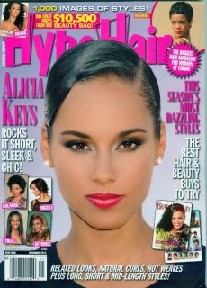 Hype Hair November 2012 Alicia Keys Seasons Most Dazzling Styles